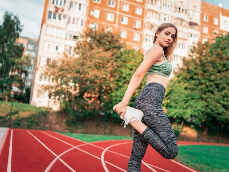 running warm-up exercises
