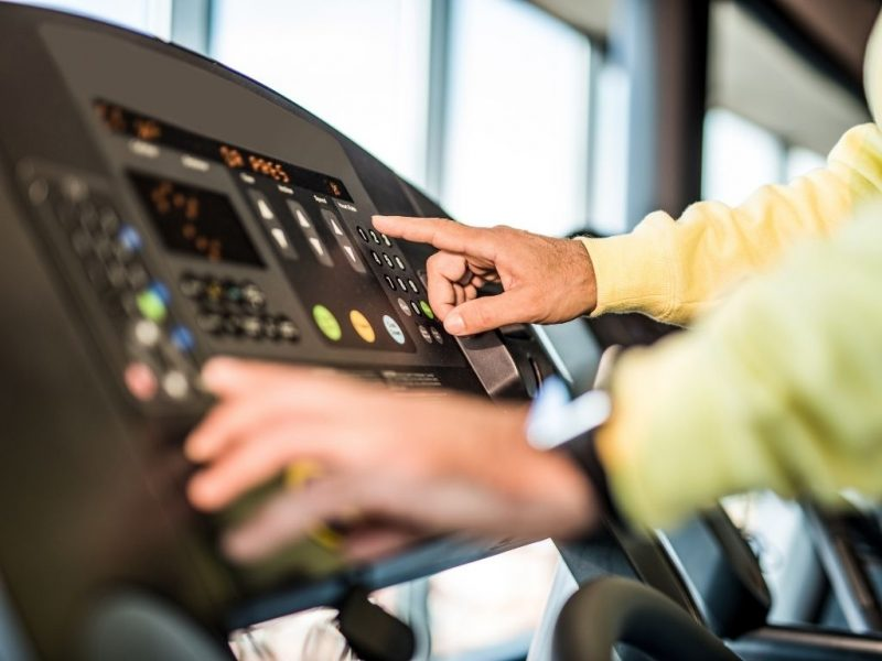 settings of treadmill