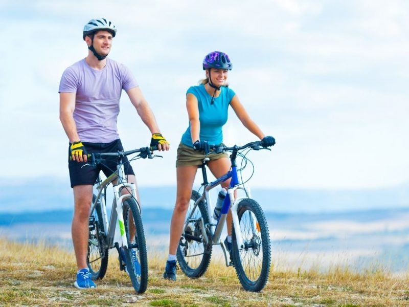 Warm-ups before cycling